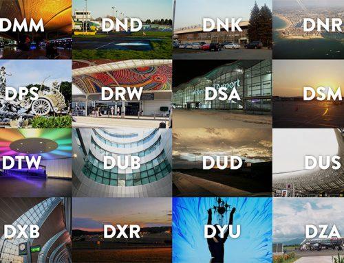 Les codes aéroports n'auront plus de secret pour vous !