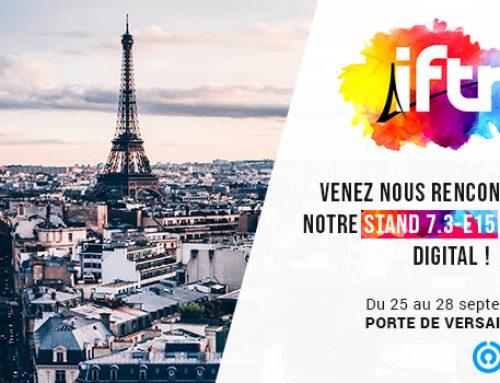 Rencontrez l'équipe d'Option Way lors de l'IFTM Top Résa 2018 !
